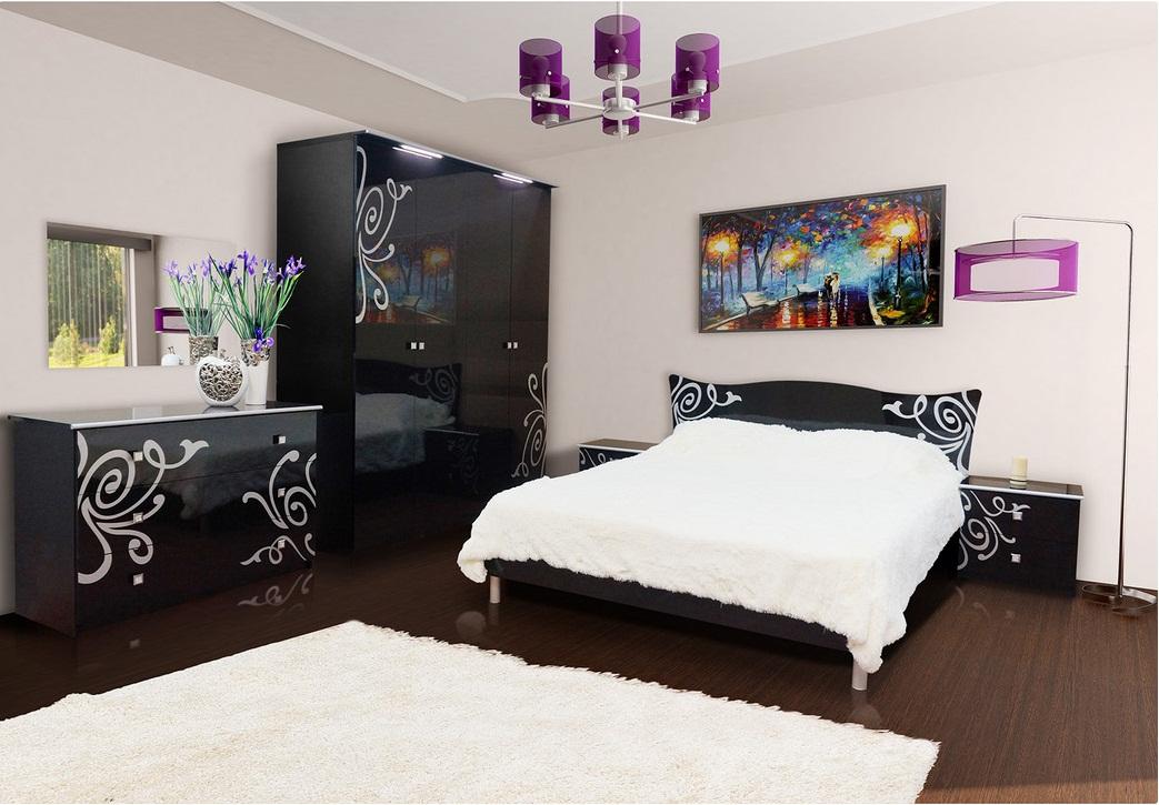 спальни модульные спальня фелиция новая