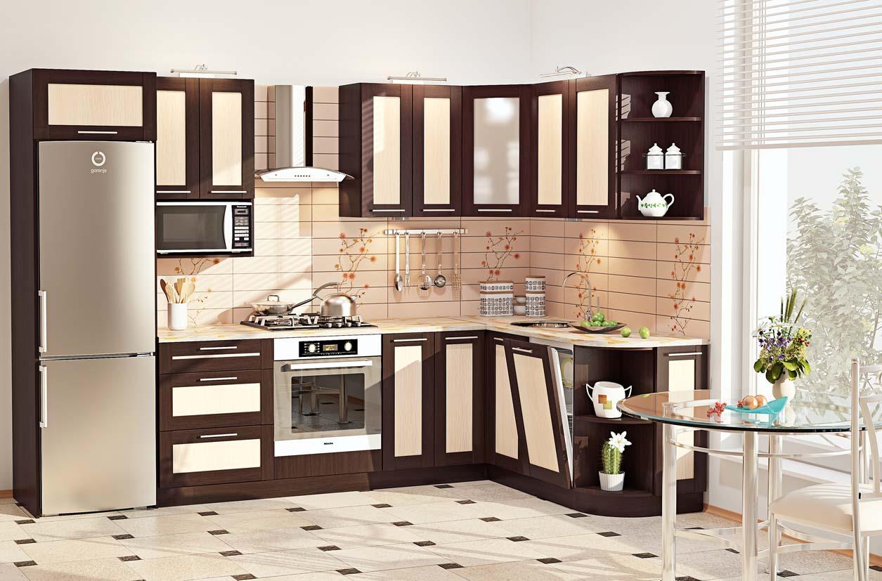 деревянные модульные кухни
